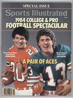 1984 College & Pro Football Spectacular (Bernie Kosar, Dan Marino)