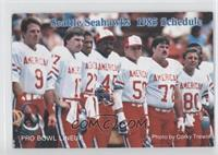 Norm Johnson, Dave Krieg, Dave Brown, Kenny Easley, Fredd Young, Joe Nash, Stev…