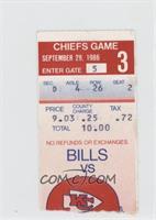 September 25 vs. Buffalo Bills [GoodtoVG‑EX]