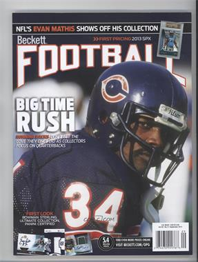 1989-Now Beckett Football [???] #N/A - Walter Payton
