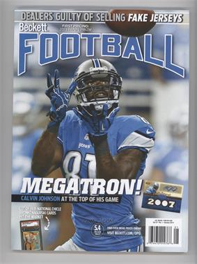 1989-Now Beckett Football #1-14 - January 2014 (Calvin Johnson)