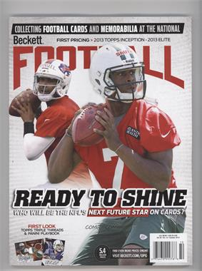 1989-Now Beckett Football #10-13 - October 2013 (EJ Manuel, Geno Smith)