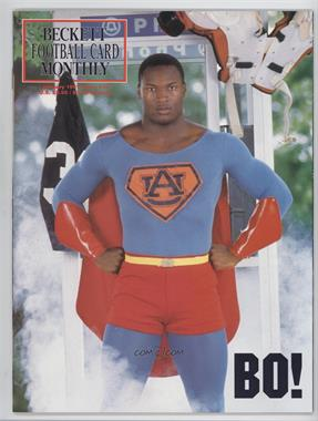 1989-Now Beckett Football #10 - January 1991 (Bo Jackson)
