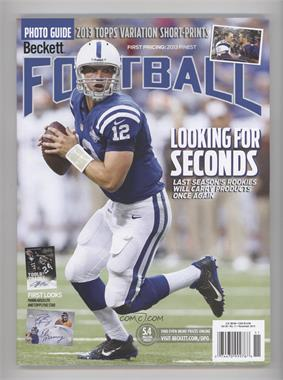 1989-Now Beckett Football #11-13 - November 2013 (Andrew Luck)