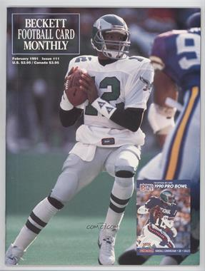 1989-Now Beckett Football #11 - February 1991 (Randall Cunningham)