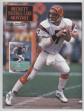 1989-Now Beckett Football #15 - June 1991 (Boomer Esiason)
