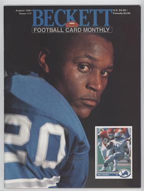 1989-Now Beckett Football #17 - August 1991 (Barry Sanders)