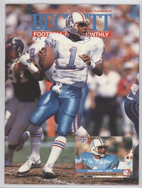 1989-Now Beckett Football #18 - [Missing]