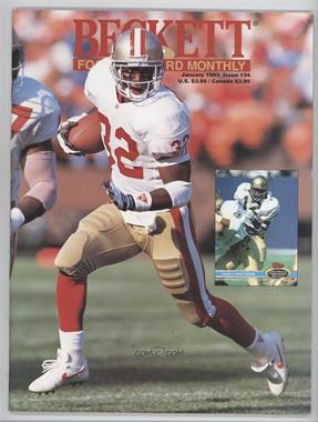1989-Now Beckett Football #34 - January 1993 (Ricky Watters) [Good to VG‑EX]