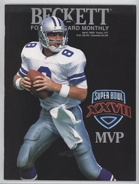 1989-Now Beckett Football #37 - April 1993 (Troy Aikman)