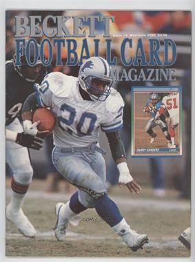1989-Now Beckett Football #4 - May/June 1990 (Barry Sanders)