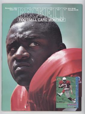 1989-Now Beckett Football #44 - November 1993 (Garrison Hearst) [Good to VG‑EX]