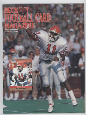 1989-Now Beckett Football #5 - July/August 1990 (Andre Ware)