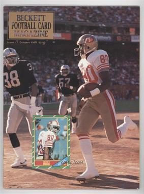 1989-Now Beckett Football #7.1 - October 1990 (Jerry Rice)