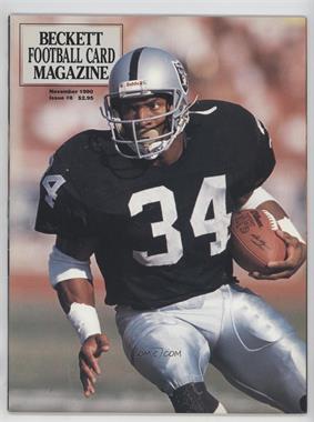 1989-Now Beckett Football #8 - November 1990 (Bo Jackson)