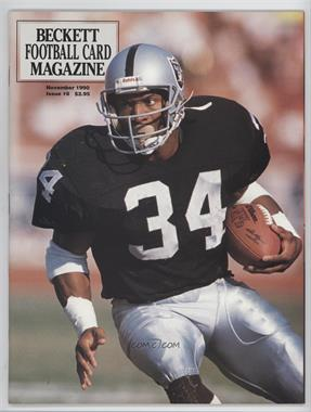 1989-Now Beckett Football #8 - November 1990 (Bo Jackson)