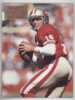 December 1990 (Joe Montana) [Good to VG‑EX]