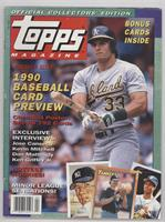 Winter 1990 (Jose Canseco) [Good to VG‑EX]