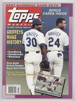 Fall 1990 (Ken Griffey, Ken Griffey Jr.)