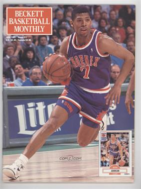 1990-Now Beckett Basketball - [Base] #11 - June 1991 (Kevin Johnson)