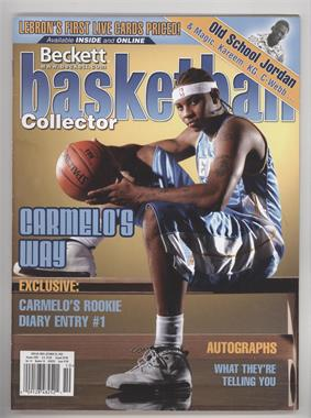1990-Now Beckett Basketball - [Base] #159 - October 2003 (Carmelo Anthony) [Good to VG‑EX]