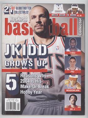 1990-Now Beckett Basketball - [Base] #162 - January 2004 (Jason Kidd)