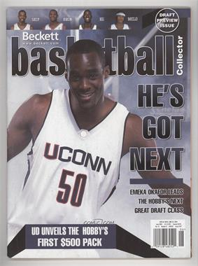 1990-Now Beckett Basketball - [Base] #167 - June 2004 (Emeka Okafor) [GoodtoVG‑EX]