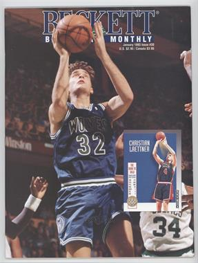 1990-Now Beckett Basketball - [Base] #30 - January 1993 (Christian Laettner)