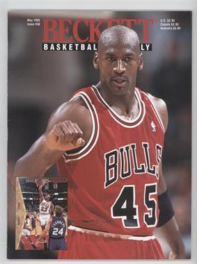 1990-Now Beckett Basketball - [Base] #58 - May 1995 (Michael Jordan)