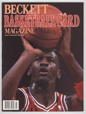 1990-Now Beckett Basketball #1 - March/April 1990 (Michael Jordan) [Good to VG‑EX]