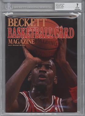 1990-Now Beckett Basketball #1 - March/April 1990 (Michael Jordan) [BGS7]