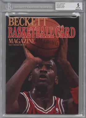 1990-Now Beckett Basketball #1 - March/April 1990 (Michael Jordan) [BGS 5]