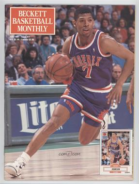 1990-Now Beckett Basketball #11 - June 1991 (Kevin Johnson)