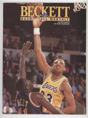 1990-Now Beckett Basketball #12 - July 1991 (Kareem Abdul-Jabbar)