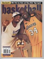 August 2000 (Kobe Bryant, Shaquille O'Neal)