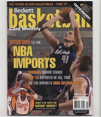 1990-Now Beckett Basketball #142 - May 2002 (Dirk Nowitzki) [GoodtoVG‑EX]
