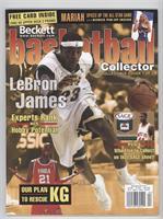 April 2003 (Lebron James) (white jersey)