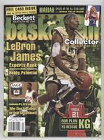 April 2003 (Lebron James) (gold jersey)