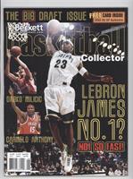 June 2003 (Darko Milicic, Carmelo Anthony, Lebron James)