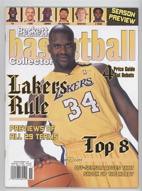 1990-Now Beckett Basketball #160 - November 2003 (Shaquille O'Neal)