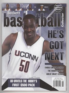 1990-Now Beckett Basketball #167 - June 2004 (Emeka Okafor)