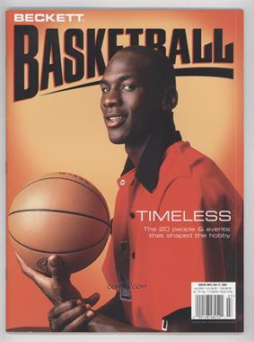 1990-Now Beckett Basketball #168 - July 2004 (Michael Jordan)