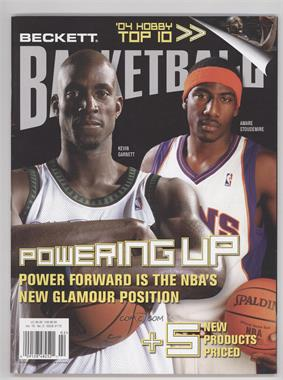 1990-Now Beckett Basketball #175 - February 2005 (Kevin Garnett, Amar'e Stoudemire)