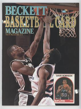 1990-Now Beckett Basketball #2 - May/June 1990 (David Robinson)