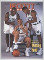 March 1995 (Jamal Mashburn, Jason Kidd, Jim Jackson, John Stockton) [Good …