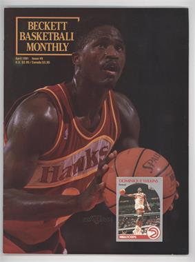 1990-Now Beckett Basketball #9 - April 1991 (Dominique Wilkins)