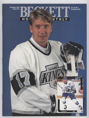 1990-Now Beckett Hockey - [Base] #12 - October 1991 (Jari Kurri)