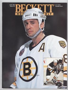 1990-Now Beckett Hockey - [Base] #32 - June 1993 (Cam Neely)