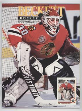 1990-Now Beckett Hockey - [Base] #9 - July 1991 (Ed Belfour)