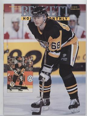 1990-Now Beckett Hockey #11 - September 1991 (Jaromir Jagr)
